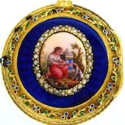 Pocket watch by Esquivillon & de Choudens, Paris,