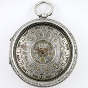 Pocket Watch by Hendrik Van Voost De Ryp, Holland