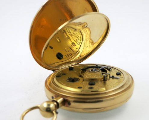 Pocket watch - gold duplex repeater