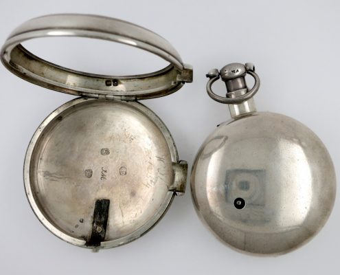 Cylinder pocket watch by Thomas Wright