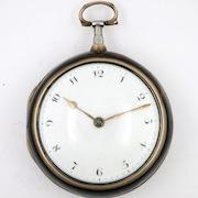 Verge pocket watch Wilmhurst, Burwash