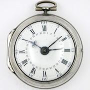 Calendar verge pocket watch, Robert Ovingham