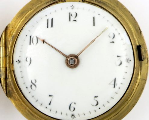 Verge pocket watch by Mary Fowler
