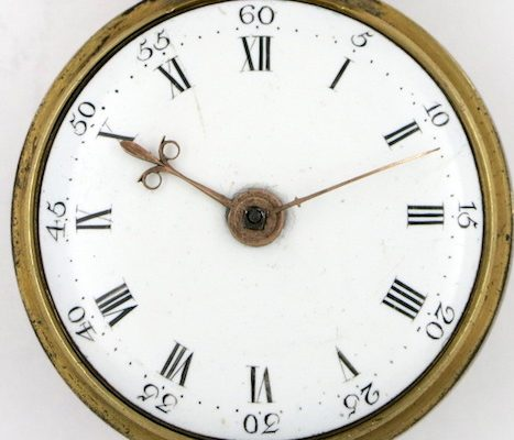 verge pocket watch by Barlow, London
