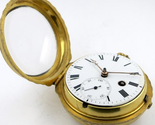 Pocket watch with Royal coat of arms