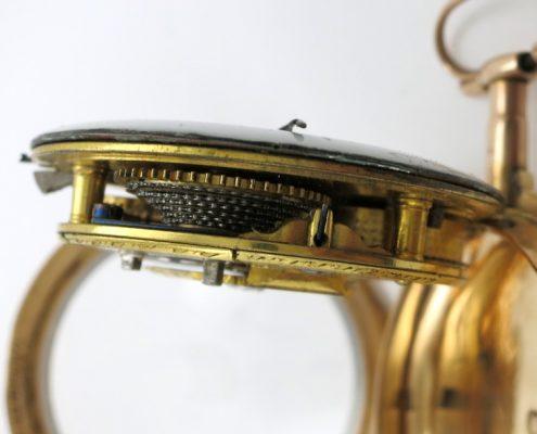 Gold pocket watch by Green & Ward, London