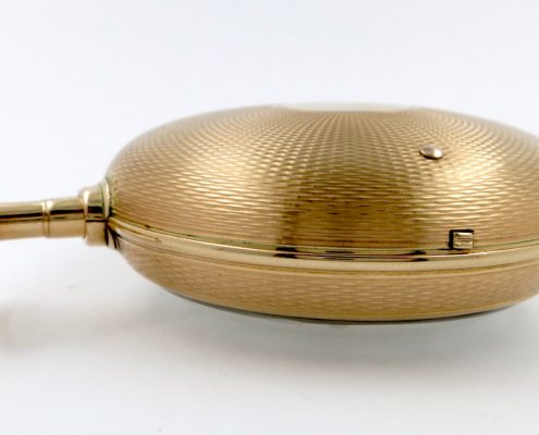Barwise, gold duplex watch