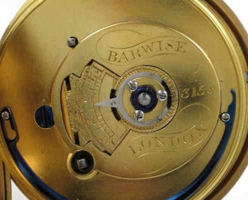 Barwise, gold duplex watch