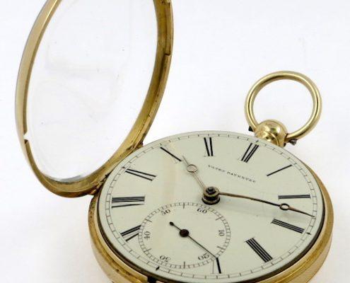 Thomas Yates slow beat gold lever