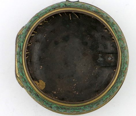 Shagreen Pocket Watch Case