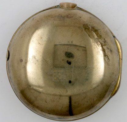 Gilt Pocket Watch Case