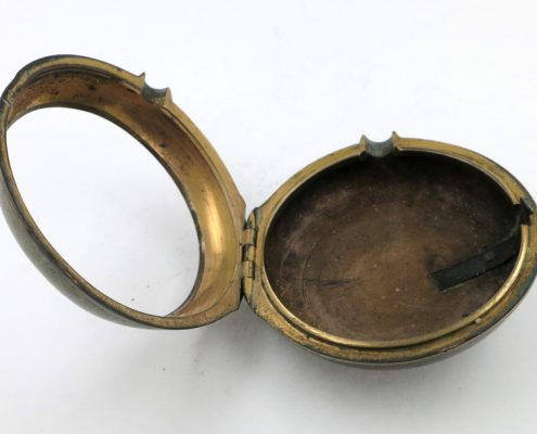 Gilt Pocket Watch Case