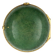 Shagreen & gilt outer case