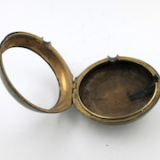 Gilt watch case
