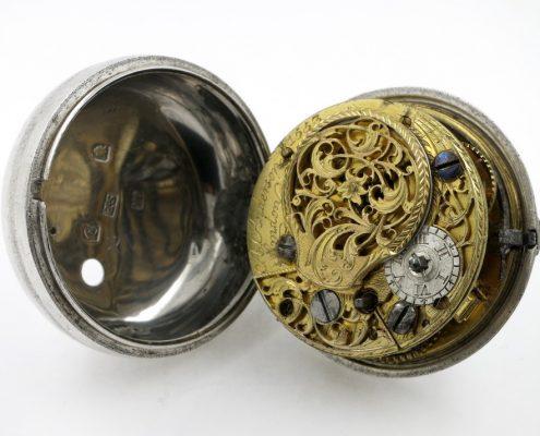 Silver pair cases verge