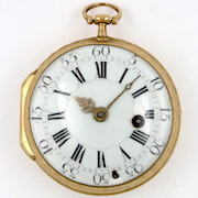 Gold pocket watch Le Roy