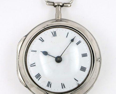 Irish verge pocket watch by Hubert, Dublin