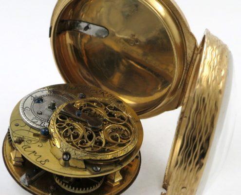 Gold cased verge by Le Roy, Paris
