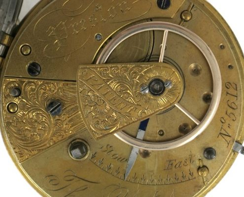 Thomas Yates slow beat pocket watch