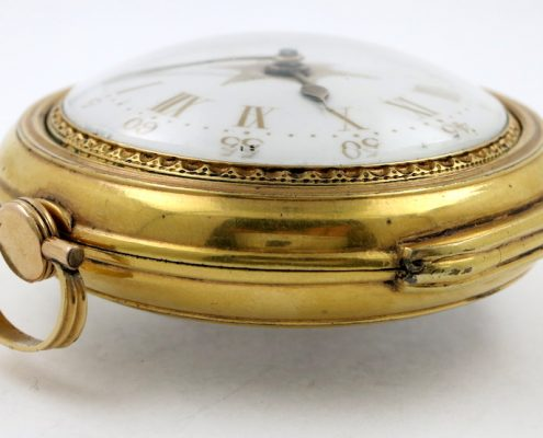 Thomas Lozano, naval pocket watch