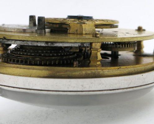 Automaton polychrome dial