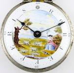 verge watch polychrome dial