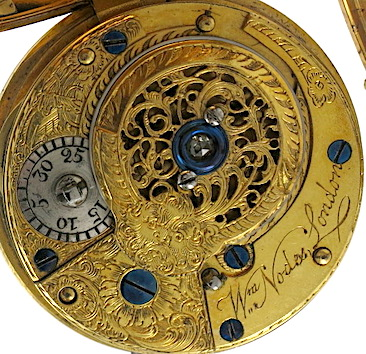 Momento Mori verge pocket watch