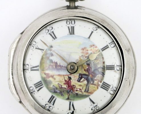 London polychrome dial verge