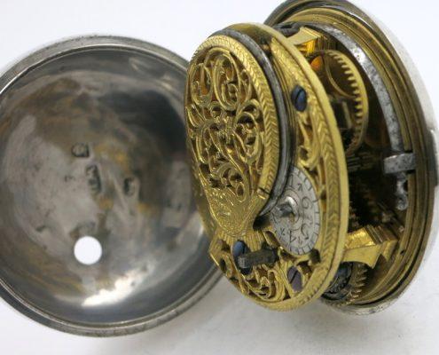 London polychrome dial verge