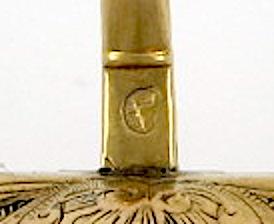 Miniature verge shell