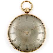 French cylinder clockwatch
