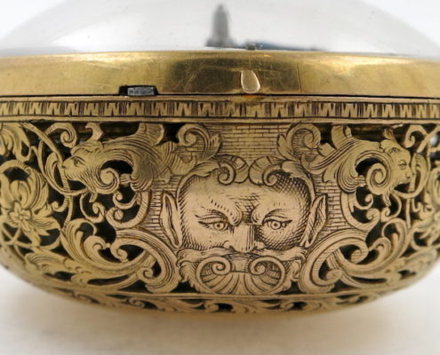 Gold repousse repeater