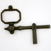 Pocket watch crank key