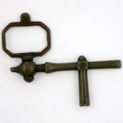 Pocket watch crank key