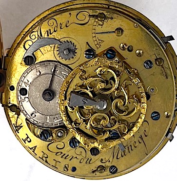 Louis XVI repeating cylinder