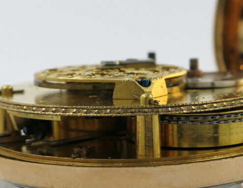 Gold enamel Story, London