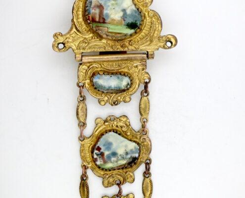 18thc watch chatelaine