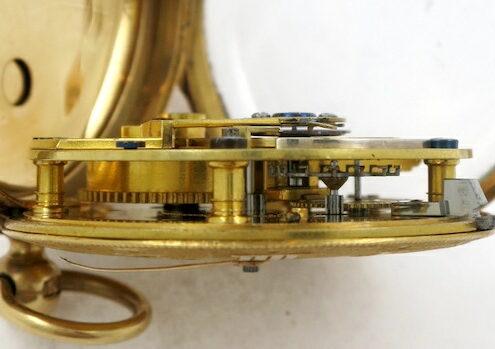cylinder pocket watch Barrauds