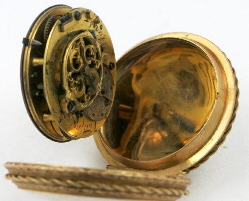 gold & enamel verge