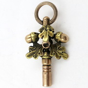 Antique Gold Watch Key