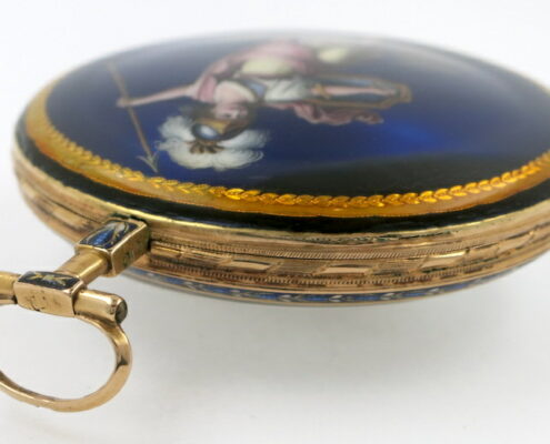 gold and enamel verge